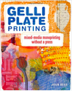 Book cover Gelli Plate Printing