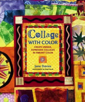 Collage with Color book by Jane Davies