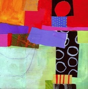 Art print by Abstract Artist Jane Davies.