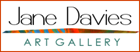 Jane Davies logo for her art gallery website